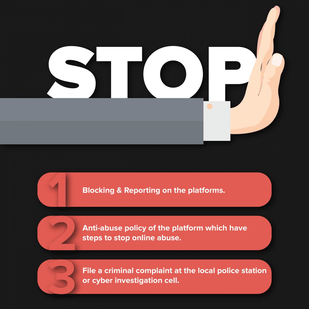 En n'étant pas en Europe, il n'y a pas énormément de solutions pour aider la campagne #StopOnlineAbuse. Mais il y en a!
